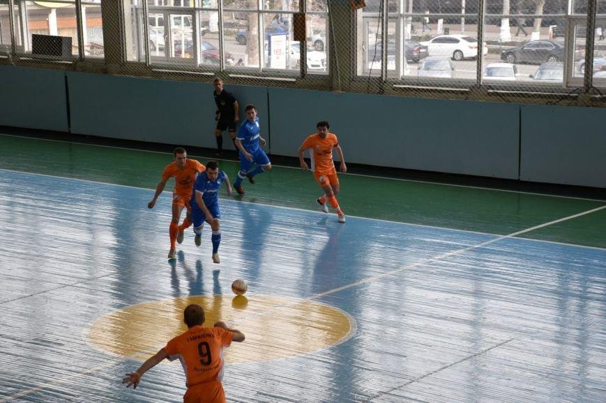 Завершился 17-й тур чемпионата Украины по мини-футболу среди команд Первой лиги (+фото) (фото) - фото 1