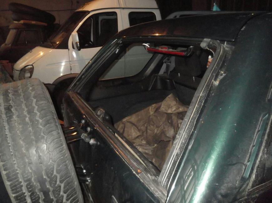 Пошкоджена автівка