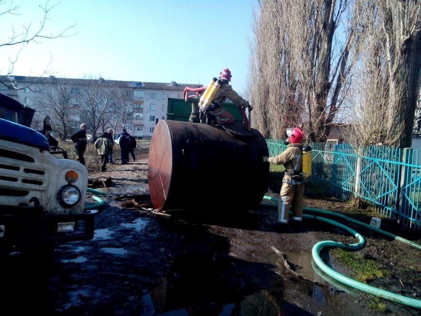 Из-за аварии на Кировоградщине разлилось 500 литров аммиачной воды, фото-1