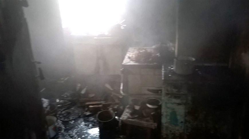 На Полтавщине огонь унёс жизни двоих мужчин (фото) - фото 1
