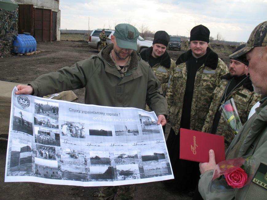 Артиллеристы отблагодарили губернатора Луганщины очень необычным подарком (ФОТО), фото-4