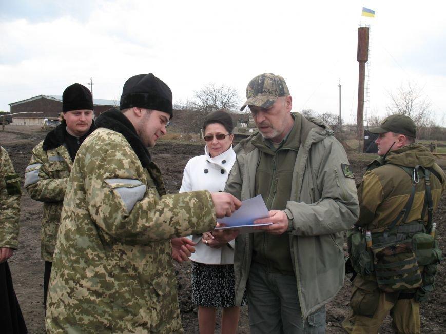 Артиллеристы отблагодарили губернатора Луганщины очень необычным подарком (ФОТО), фото-2
