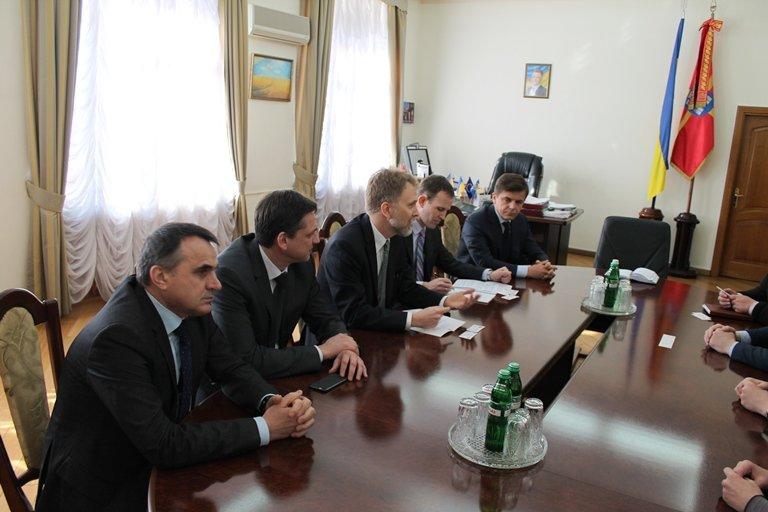 До Житомира прибув  Генеральний консул США в Україні Вільям Бистрянські (фото) - фото 1