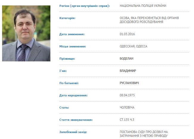3786e948c84be69ee3c6b182b56c69cd Сын экс-мэра Одессы пропал без вести