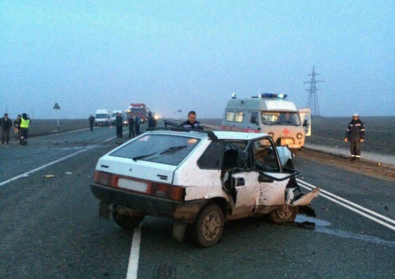 Сегодня в аварии в Новоспасском районе погиб мужчина (фото) - фото 1
