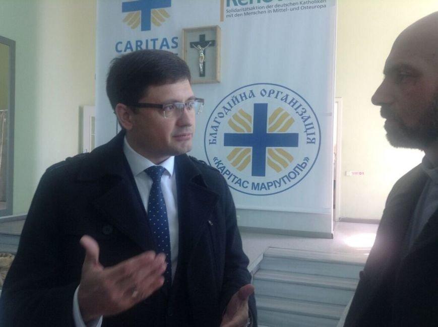 В Мариуполе открылась социальная столовая для малообеспеченных граждан (ФОТО+ВИДЕО) (фото) - фото 1
