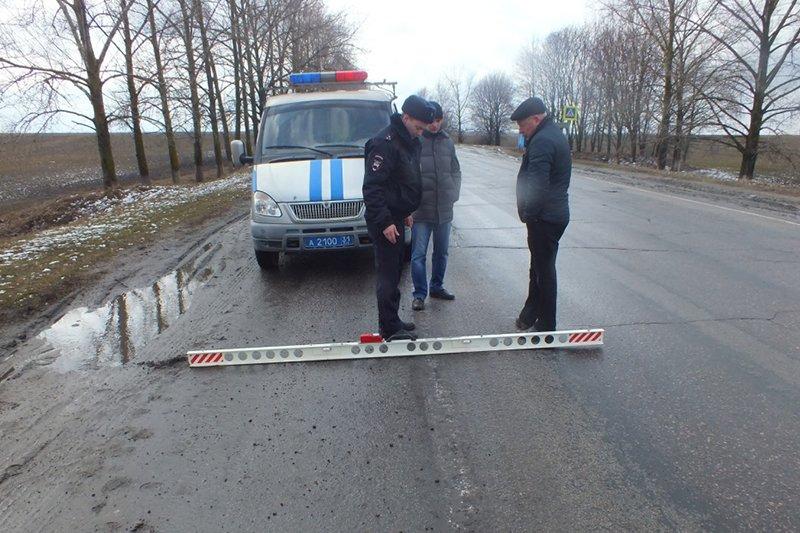 На трассе в Прохоровском районе недосчитались 23 дорожных знаков (фото) - фото 1