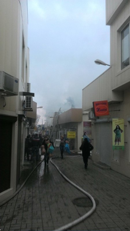 В центре Донецка горел рынок (ФОТО) (фото) - фото 1