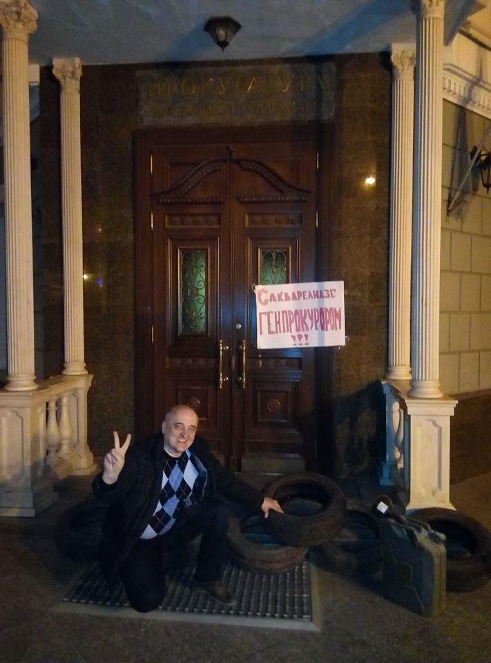 30d1dbe80d977b509fc5e6c20b3a06d8 Под стенами одесской прокуратуры ночью началась бессрочная акция