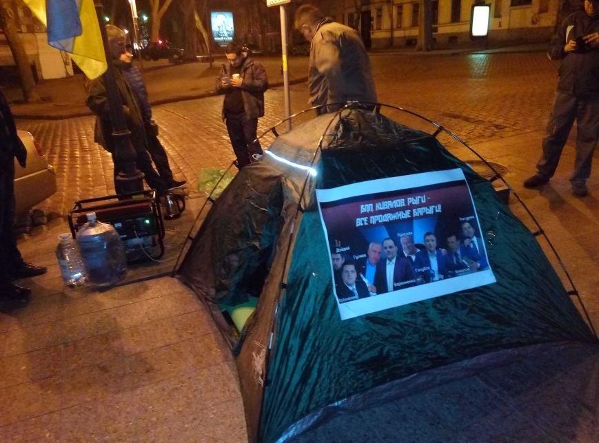 fa33ed33eacbc9bb5baf180bf8c5cf95 Под стенами одесской прокуратуры ночью началась бессрочная акция