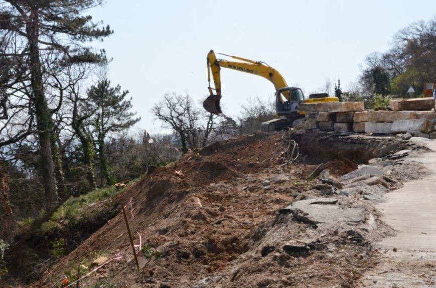 В Ялте приступили к ремонту участка дороги «Ялта – Гончарное» (1)
