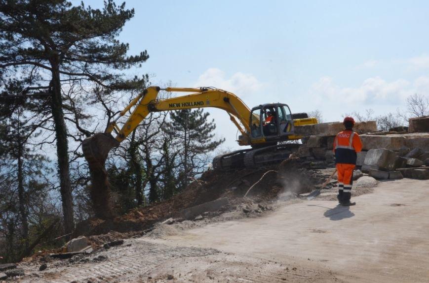 В Ялте приступили к ремонту участка дороги «Ялта – Гончарное» (4)