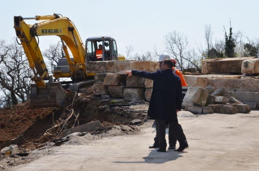 В Ялте приступили к ремонту участка дороги «Ялта – Гончарное»