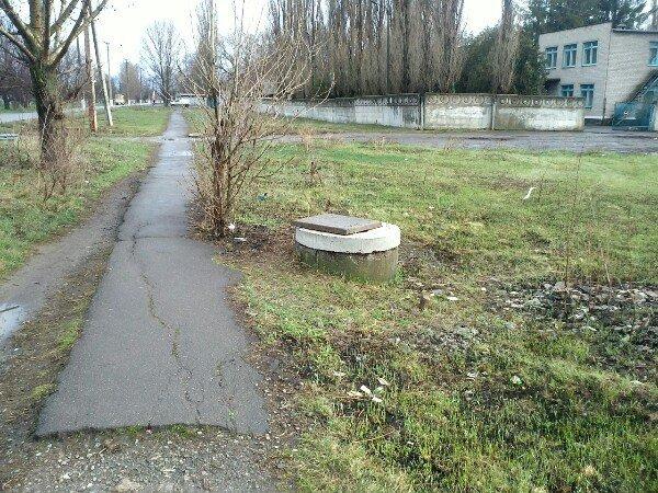 После обращения криворожан в СМИ дорога в школу стала безопаснее (ФОТО) (фото) - фото 1
