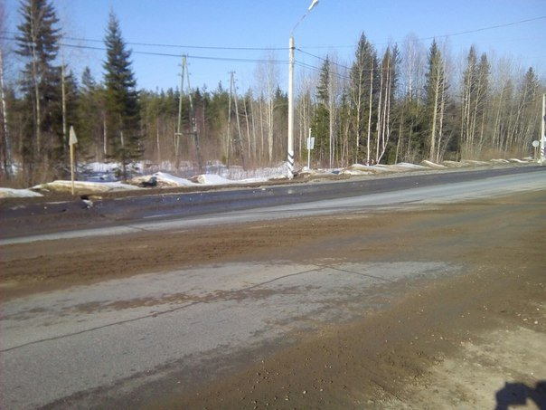 Горожане бьют тревогу: кто ответит за грязь на дороге? (фото) - фото 1