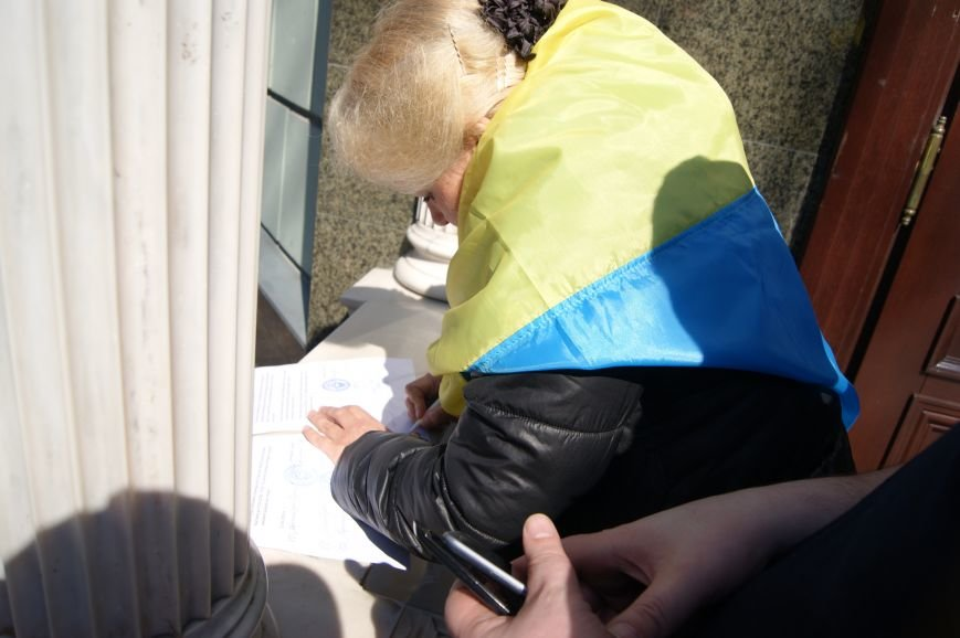 Радикальное противостояние: Одесситы поставили Стоянову ультиматум (ФОТОРЕПОРТАЖ) (фото) - фото 1