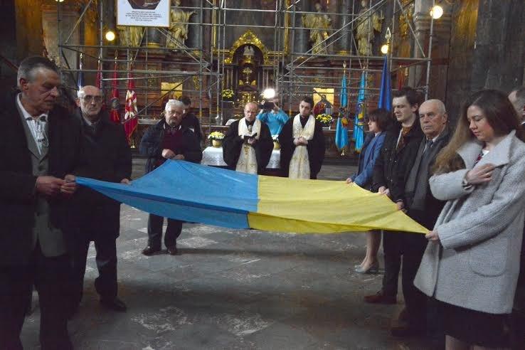 Як львів'яни відзначили 26-ту річницю підняття Державного прапора (ФОТО+ВІДЕО), фото-1