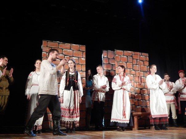 Почему «д'ябал» был «стомлены» узнали зрители на спектакле в Новополоцке, фото-7