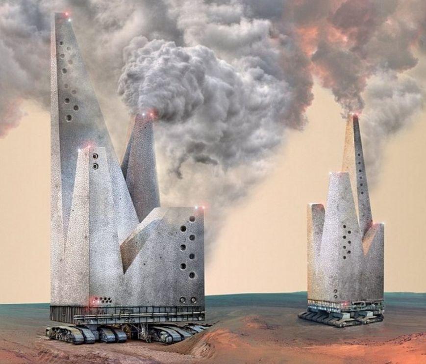 10 инопланетных архитектурных проектов будущего (фото) - фото 8