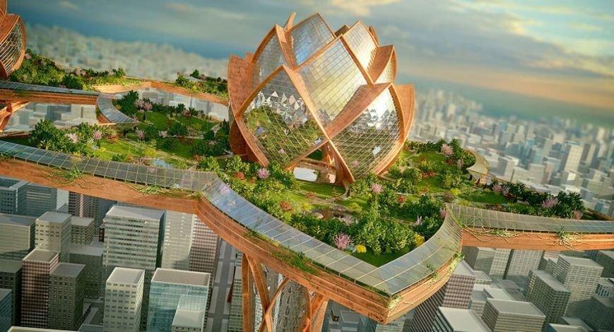 10 инопланетных архитектурных проектов будущего (фото) - фото 10