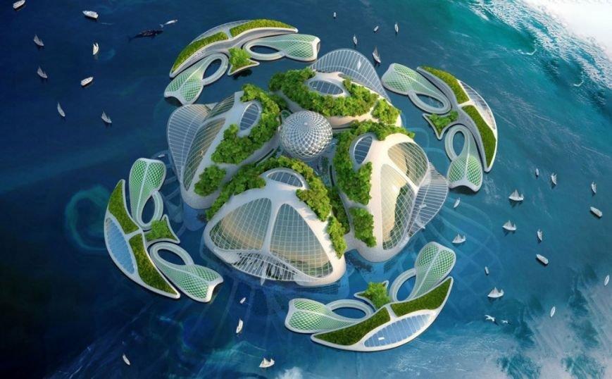 10 инопланетных архитектурных проектов будущего (фото) - фото 1
