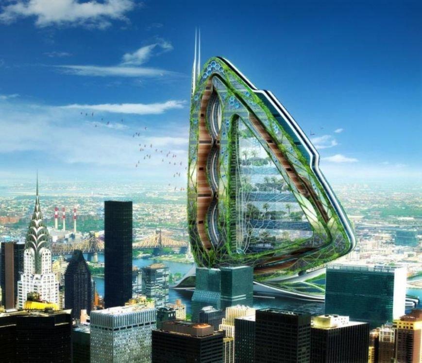10 инопланетных архитектурных проектов будущего (фото) - фото 6