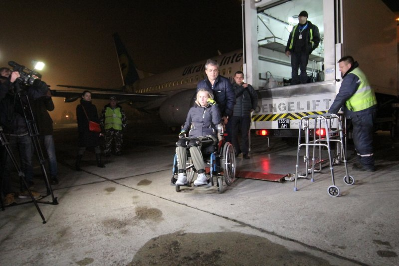 Легендарная девушка-госпитальер Яна Зинкевич вернулась после лечения в Израиле в Днепропетровск (ФОТО) (фото) - фото 26