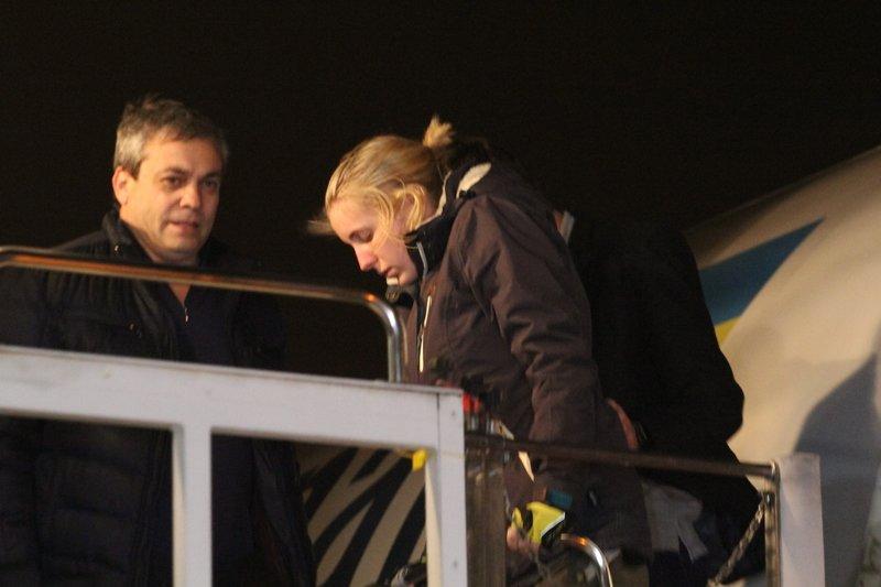 Легендарная девушка-госпитальер Яна Зинкевич вернулась после лечения в Израиле в Днепропетровск (ФОТО) (фото) - фото 18