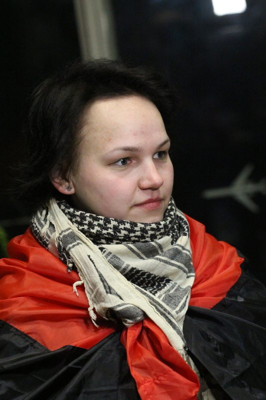 Легендарная девушка-госпитальер Яна Зинкевич вернулась после лечения в Израиле в Днепропетровск (ФОТО) (фото) - фото 9