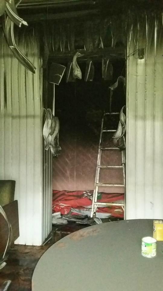 Сьогодні В Конотопі підпалили місцеву студію телебачення(КСТ), фото-9