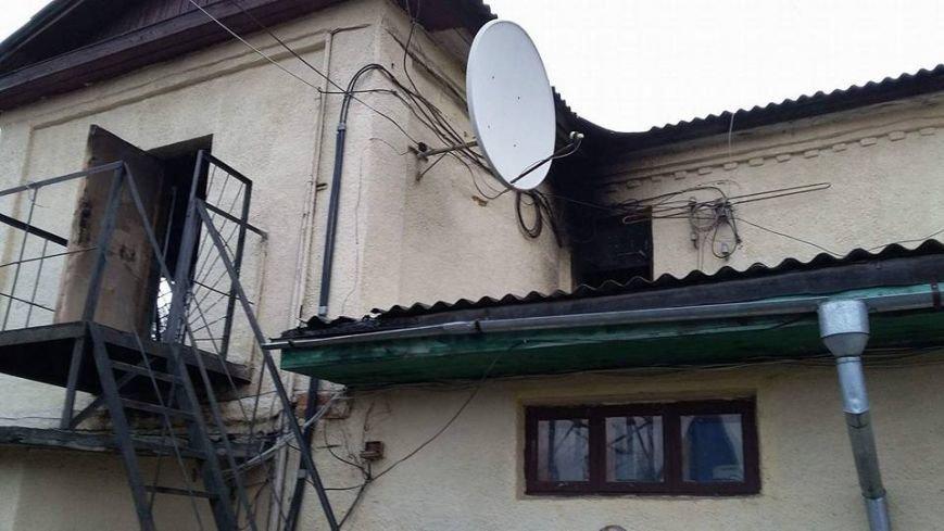 Сьогодні В Конотопі підпалили місцеву студію телебачення(КСТ), фото-2