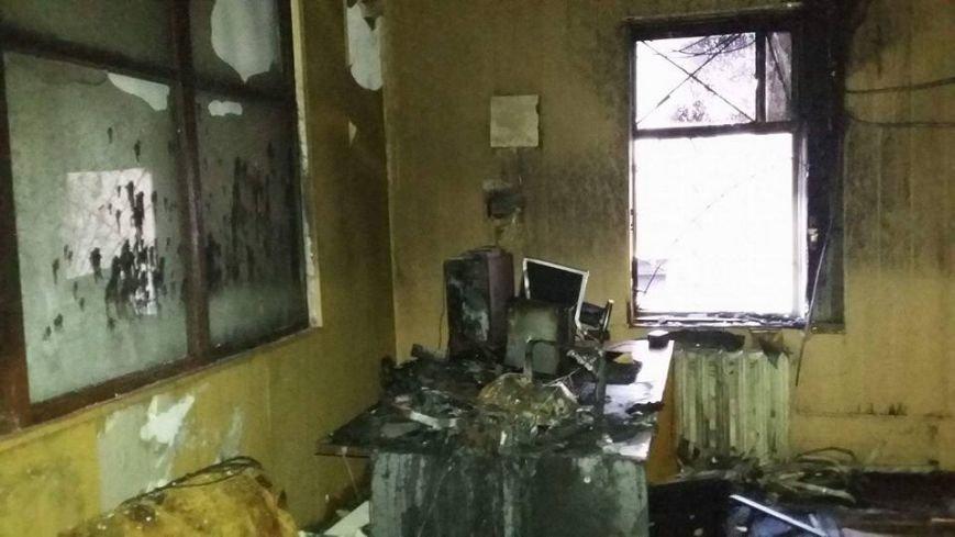 Сьогодні В Конотопі підпалили місцеву студію телебачення(КСТ), фото-8