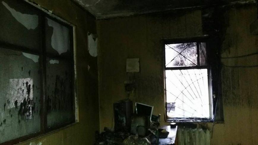 Сьогодні В Конотопі підпалили місцеву студію телебачення(КСТ), фото-1