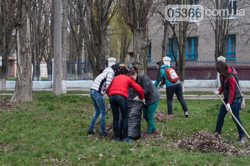 """Акция """"Зелена толока"""": кременчугская молодёжь наведёт порядок в трёх парках, фото-1"""