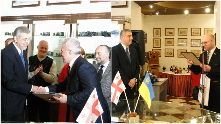 До Хмельницького завітав повноважний посол Грузії (Фото, відео) (фото) - фото 6