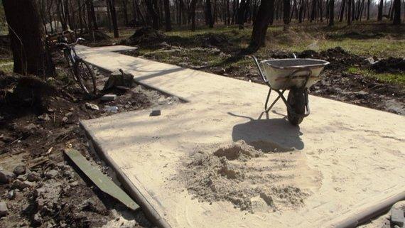 В Краматорске идет реконструкция Сада Бернацкого (ФОТО, ВИДЕО) (фото) - фото 7