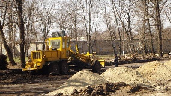 В Краматорске идет реконструкция Сада Бернацкого (ФОТО, ВИДЕО) (фото) - фото 3