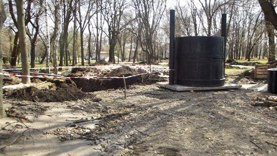 В Краматорске идет реконструкция Сада Бернацкого (ФОТО, ВИДЕО) (фото) - фото 5