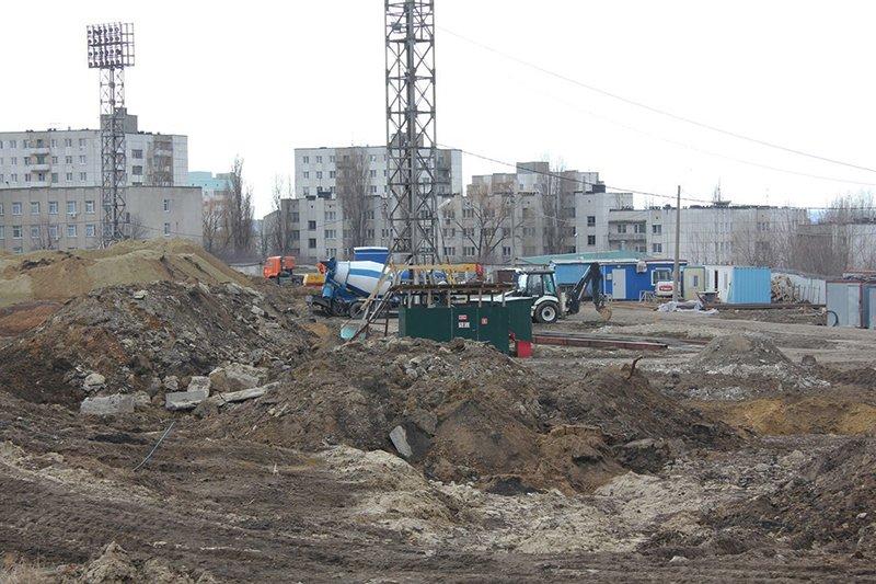 Арену «Белогорье» закатали в асфальт (фото) - фото 1
