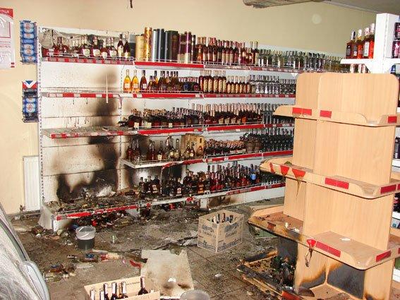 В сгоревшем магазине в Сумах нашли предохранительную чеку от гранаты (ФОТО) (фото) - фото 1
