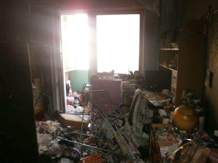 Сегодня, по ул. Проспект Мира горела квартира, предположительно ограбление и поджог(+фото, видео) (фото) - фото 1