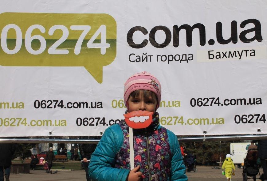В День Смеха бахмутчане друг другу подарили свои улыбки, фото-11