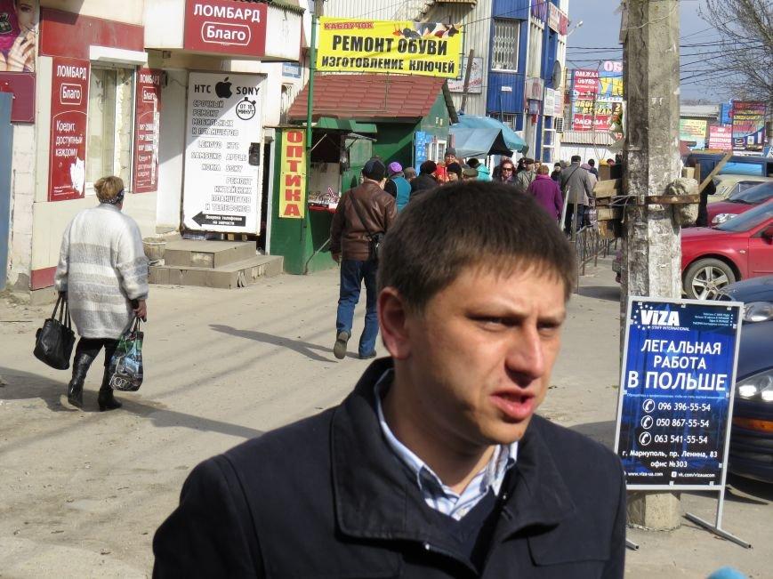 """В Мариуполе торговцы """"блошиного"""" рынка потребовали изгнать с трамвайного кольца конкурентов (ФОТО+ВИДЕО), фото-3"""