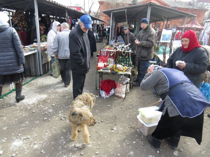 """В Мариуполе торговцы """"блошиного"""" рынка потребовали изгнать с трамвайного кольца конкурентов (ФОТО+ВИДЕО), фото-1"""