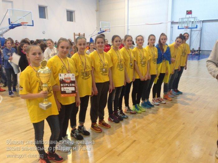 Рівненські баскетболістки перемогли на  «EASTER CUP 2016», фото-1