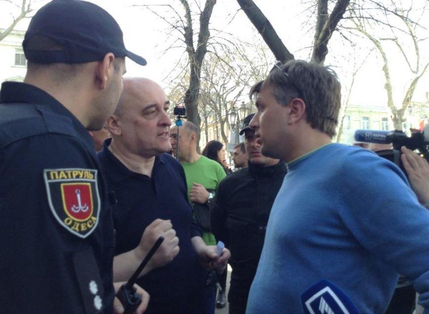 Защитник Стоянова устроил провокацию на акции протеста (ФОТО) (фото) - фото 1