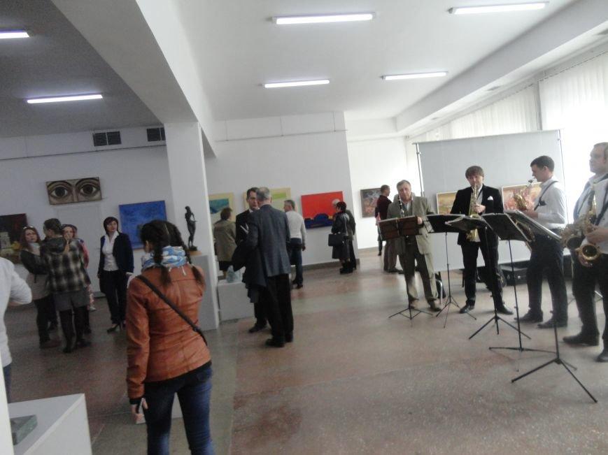 Виставка 30 київський художників у Івано-Франківську (фото) - фото 2