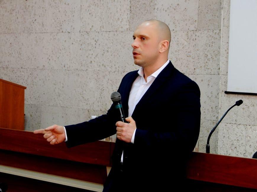 У Хмельницькому зі студентами про наркотики говорив Ілля Кива (Фото) (фото) - фото 4