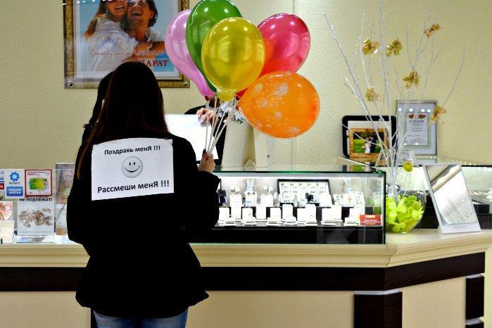 Как в Новополоцке прошла акция разноцветного настроения: смущение, улыбки и удивление, фото-13
