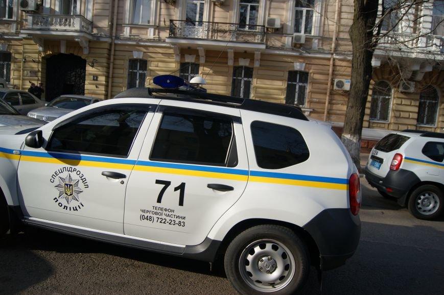 b6ca303e1fb1754a7b426f008d872616 В Одессу стянули дополнительные силы полиции